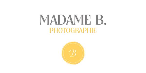 Madame B. Photographie logo